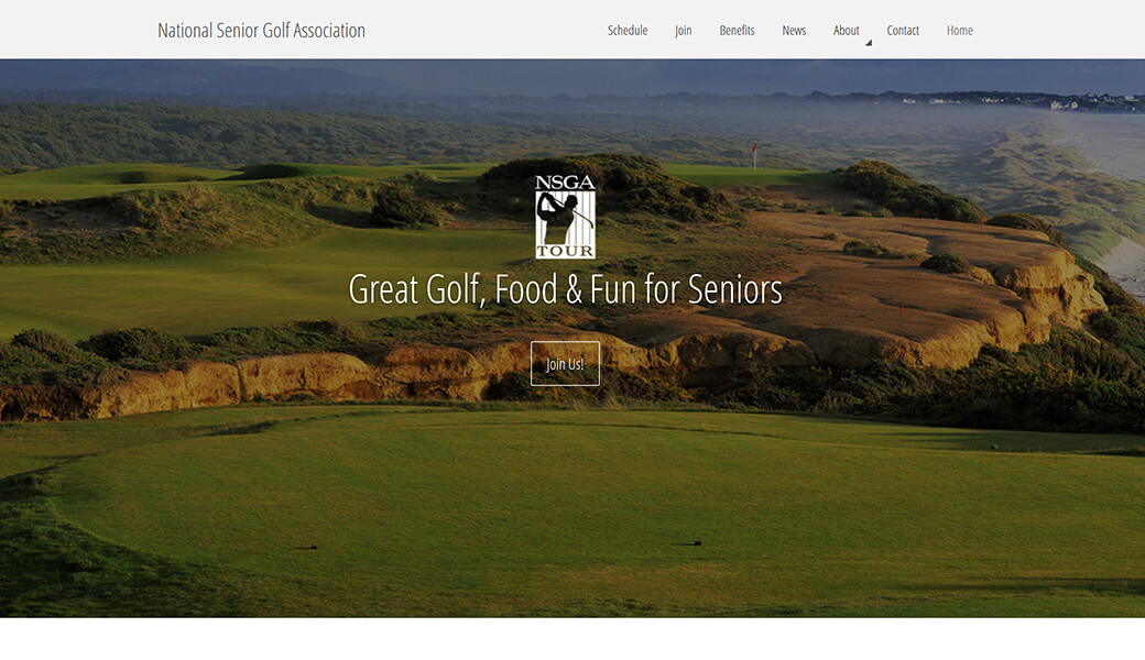 National Senior Golf Association