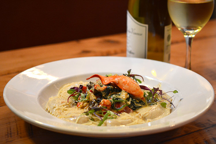 Chef Chris Harmon's Butternut Squash Ravioli with Lobster